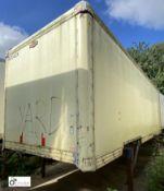 Don-Bur Demountable Box, 7550mm x 2550mm, fleet number ARCB0042X