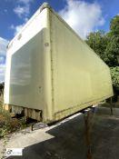Cartwright Demountable Box, 7550mm x 2550mm, fleet number ARCB0609