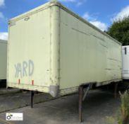Don-Bur Demountable Box, 7550mm x 2550mm, fleet number ARCB0032