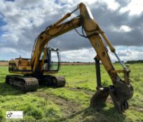 JCB JS130 360° Excavator, with JCB quick hitch, VIN SLPJS9022E0890309, product ID 0890309, year