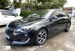 Vauxhall Insignia SRI Nav VX CDTi Eco SS 5-door Hatchback, registration DS15 JHX, date of