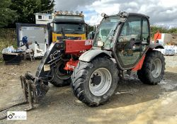 Manitou MLT627 Turbo Telehandler CE3 Series, year 2011, 4716hours, 6m/2.7tonnes, bucket and forks