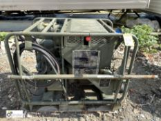 Diesel driven Fuel Transfer Pump, with Petter AC2 engine, 8.2kw