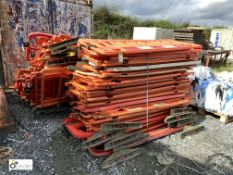 Large quantity plastic Barriers