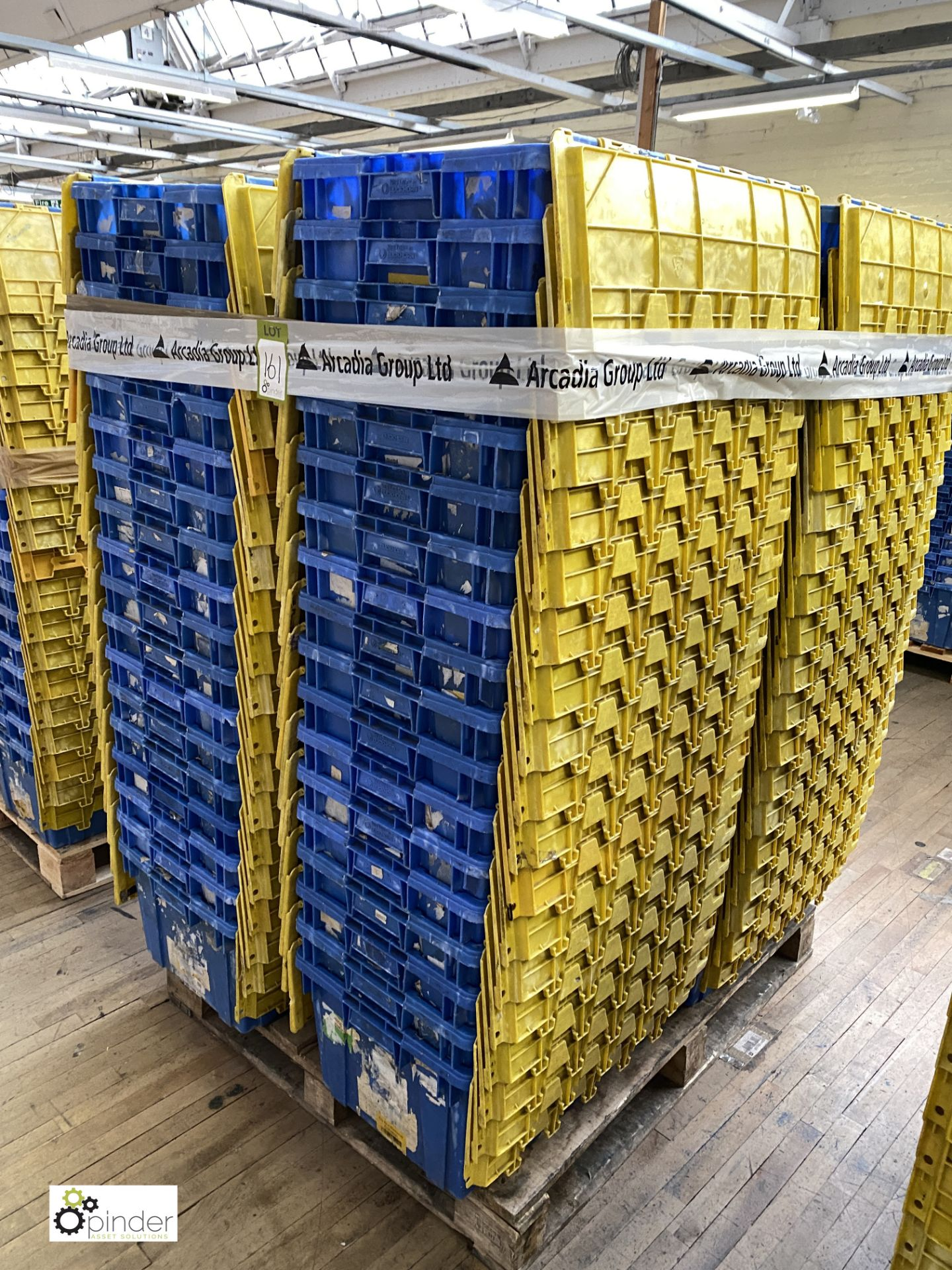 Approx. 72 Buckhorn stackable plastic Storage Containers, 640mm x 380mm x 300mm, with interlocking - Image 4 of 4