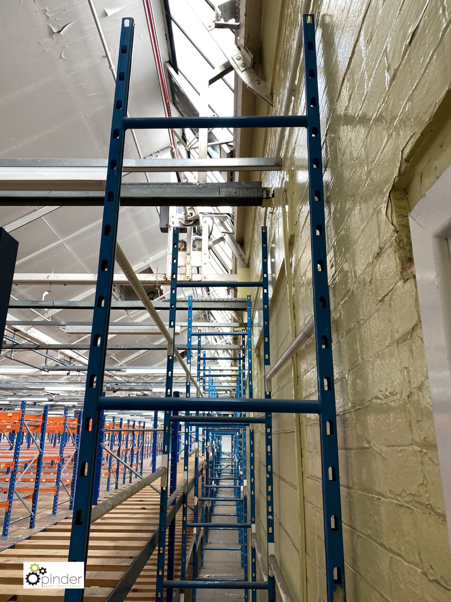 11 bays boltless Garment Hanging Racking, comprising 12 uprights 3050mm x 610mm, 55 tubular rails - Image 3 of 4