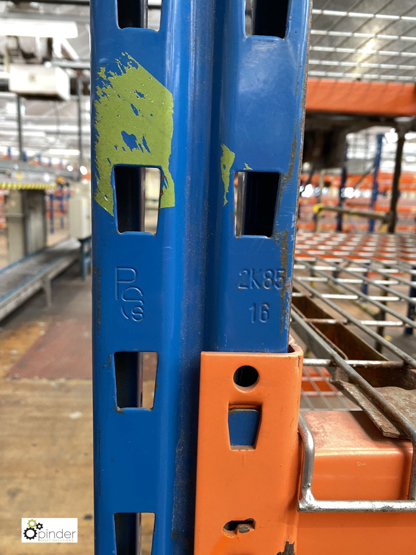 8 bays PSS 2K85 16 boltless Stock Racking, comprising 9 uprights 2400mm x 1200mm, 64 beams 2700mm, - Image 5 of 5