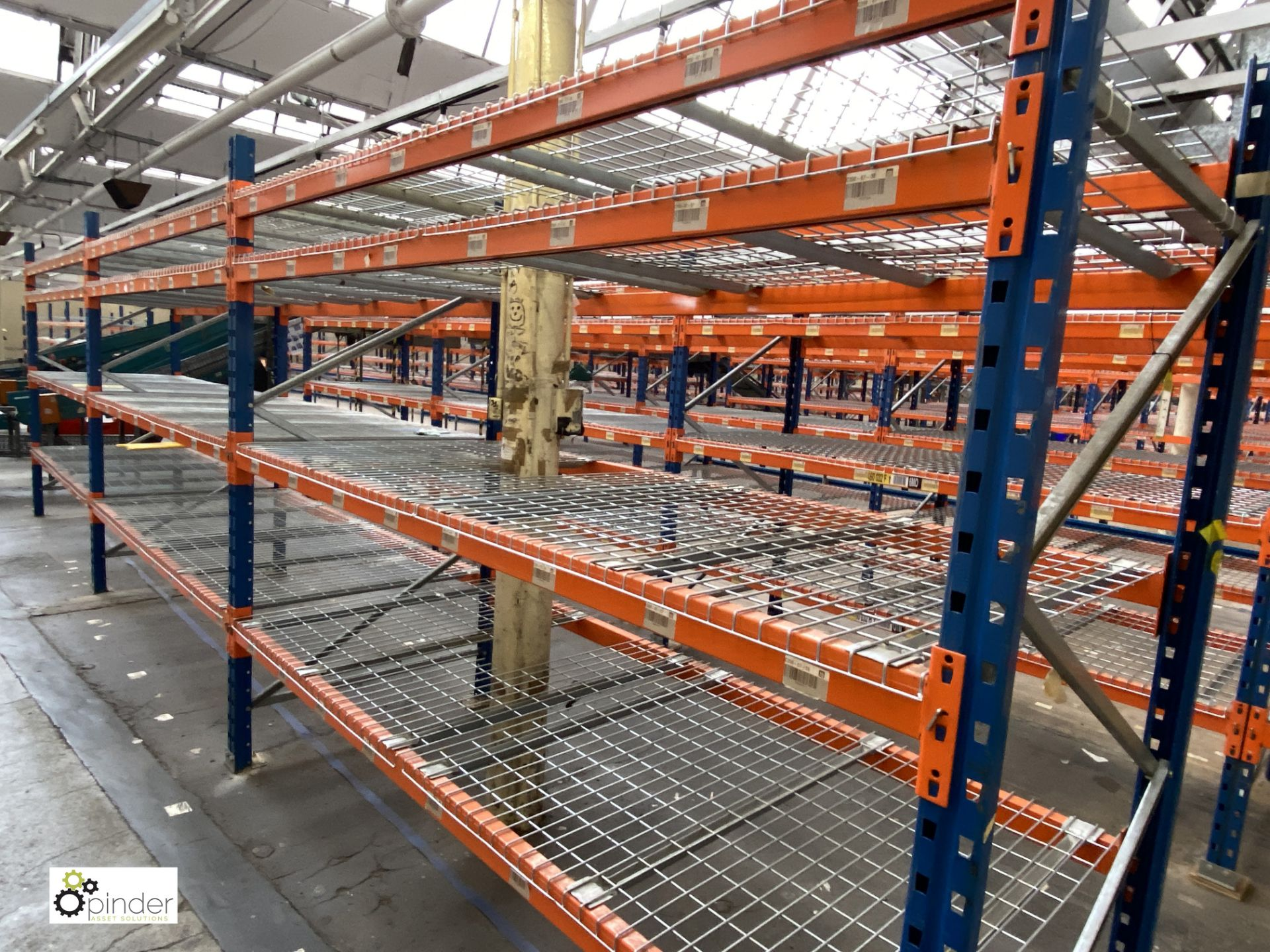3 bays PSS 2K85 16 boltless Stock Racking, comprising 4 uprights 2400mm x 1200mm, 24 beams 2700mm, - Image 2 of 5