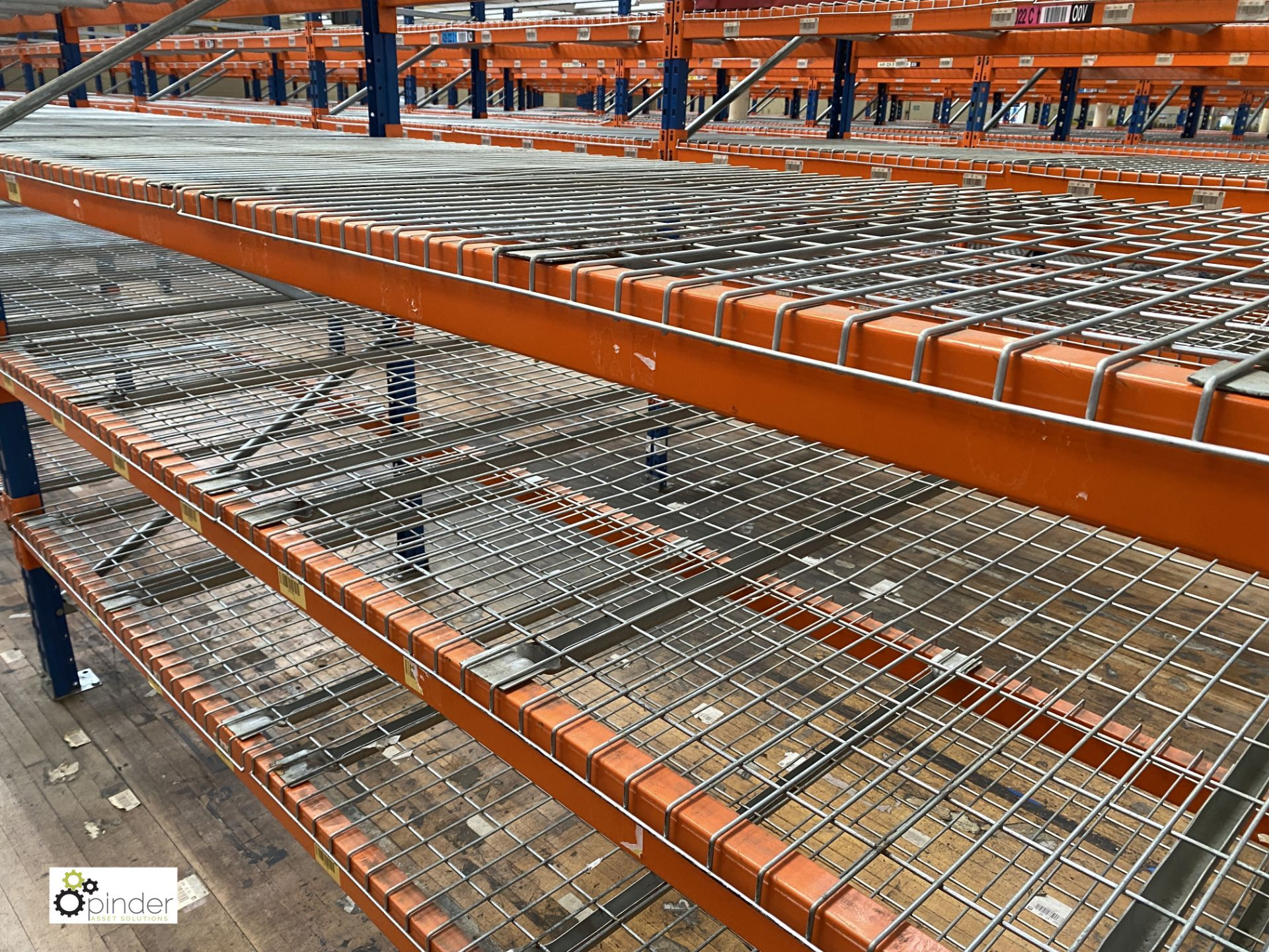 8 bays PSS 2K85 16 boltless Stock Racking, comprising 9 uprights 2400mm x 1200mm, 64 beams 2700mm, - Image 4 of 5