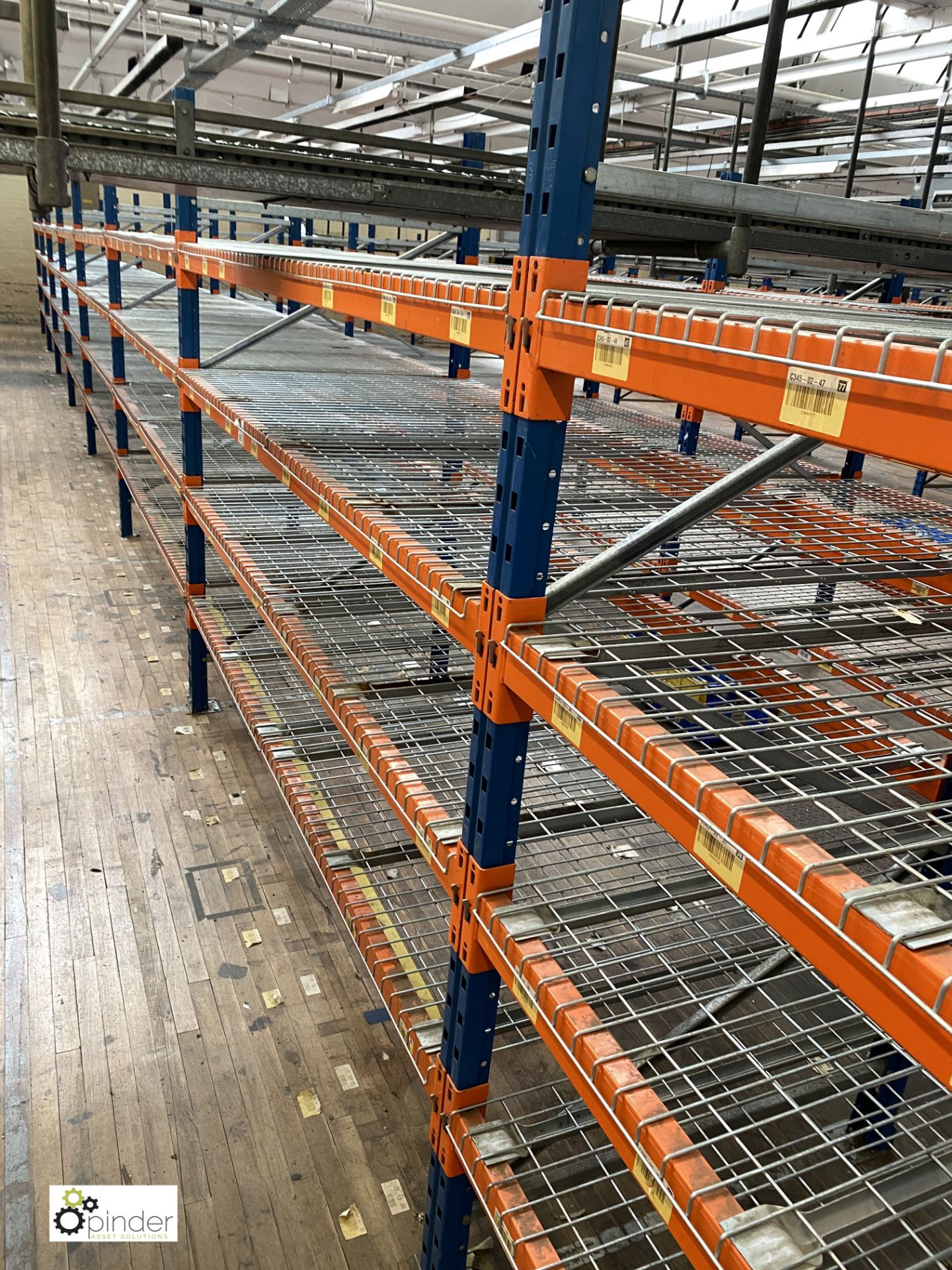 7 bays PSS 2K85 16 boltless Stock Racking, comprising 8 uprights 2400mm x 1200mm, 56 beams 2700mm, - Image 3 of 5