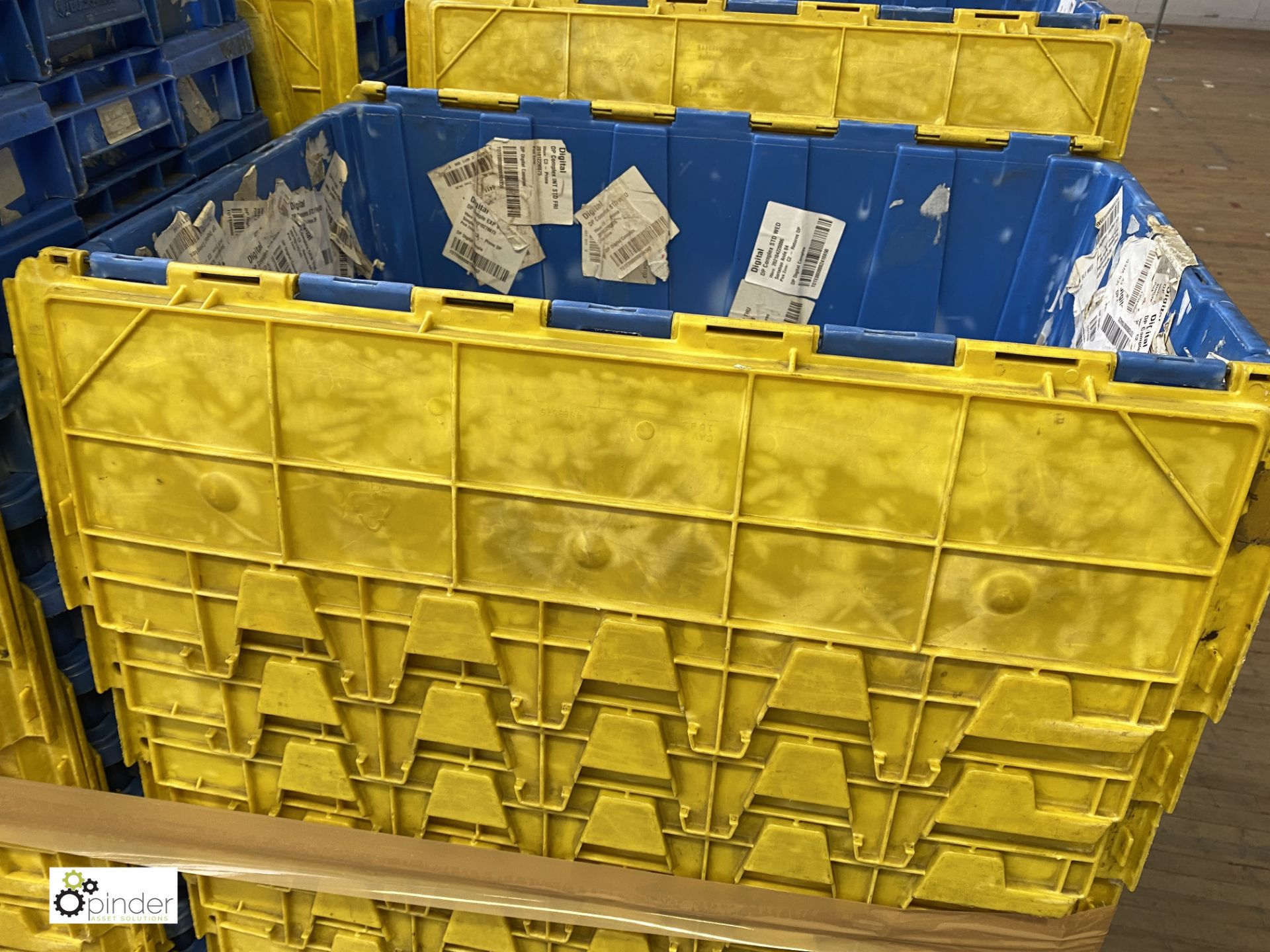 Approx. 67 Buckhorn stackable plastic Storage Containers, 640mm x 380mm x 300mm, with interlocking - Image 4 of 5