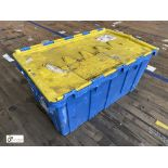 Approx. 67 Buckhorn stackable plastic Storage Containers, 640mm x 380mm x 300mm, with interlocking