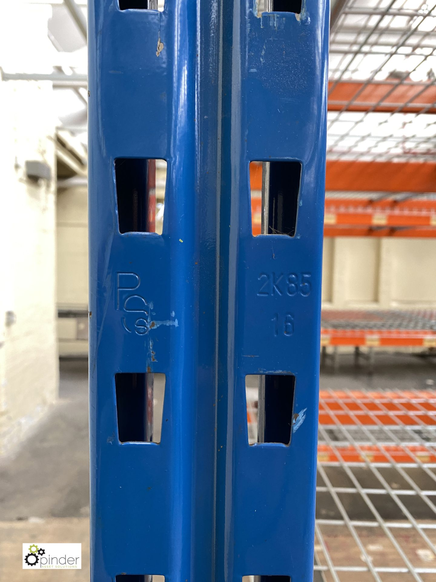 7 bays PSS 2K85 16 boltless Stock Racking, comprising 8 uprights 2400mm x 1200mm, 56 beams 2700mm, - Image 5 of 5