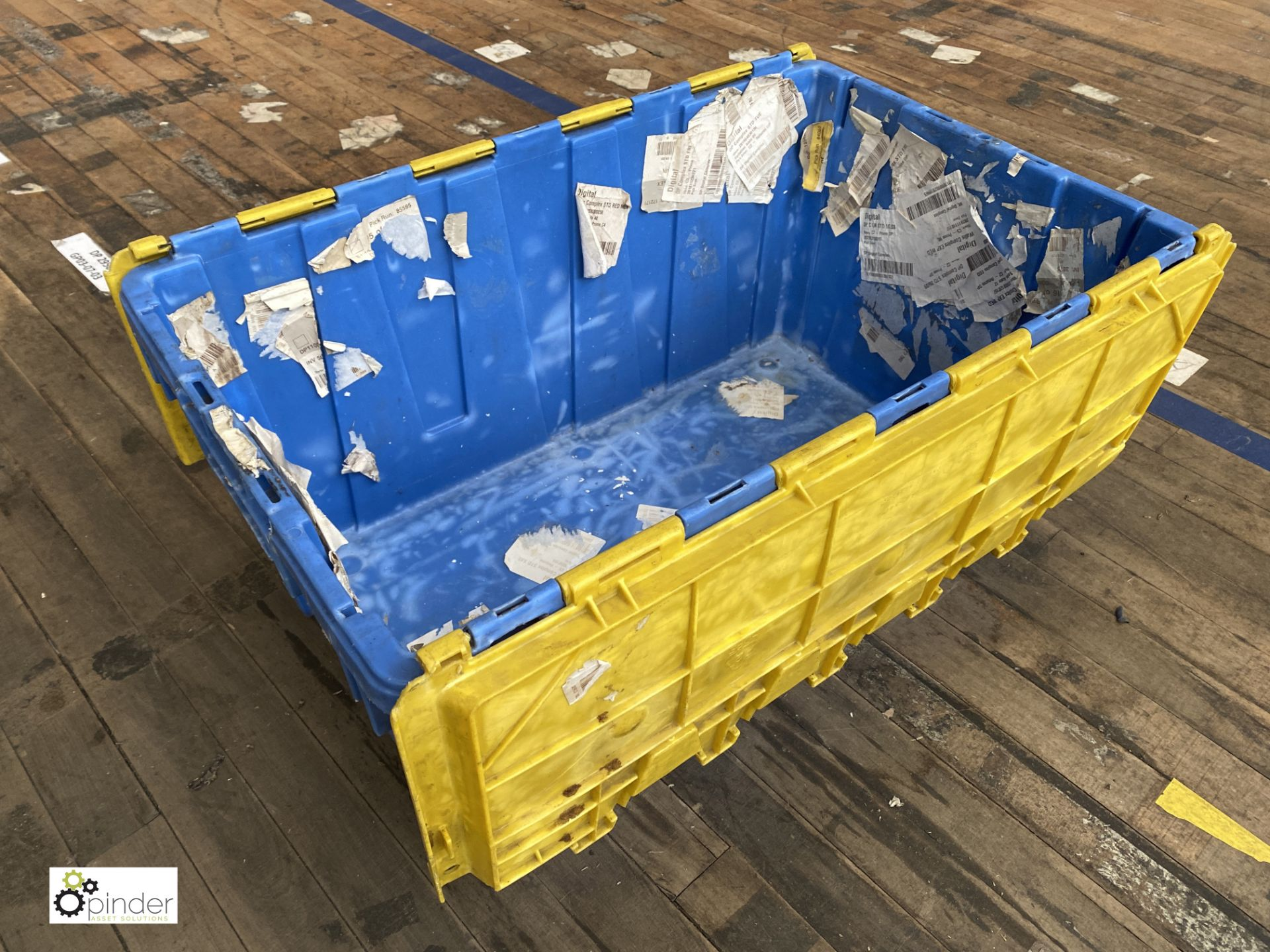 Approx. 66 Buckhorn stackable plastic Storage Containers, 640mm x 380mm x 300mm, with interlocking - Image 2 of 4