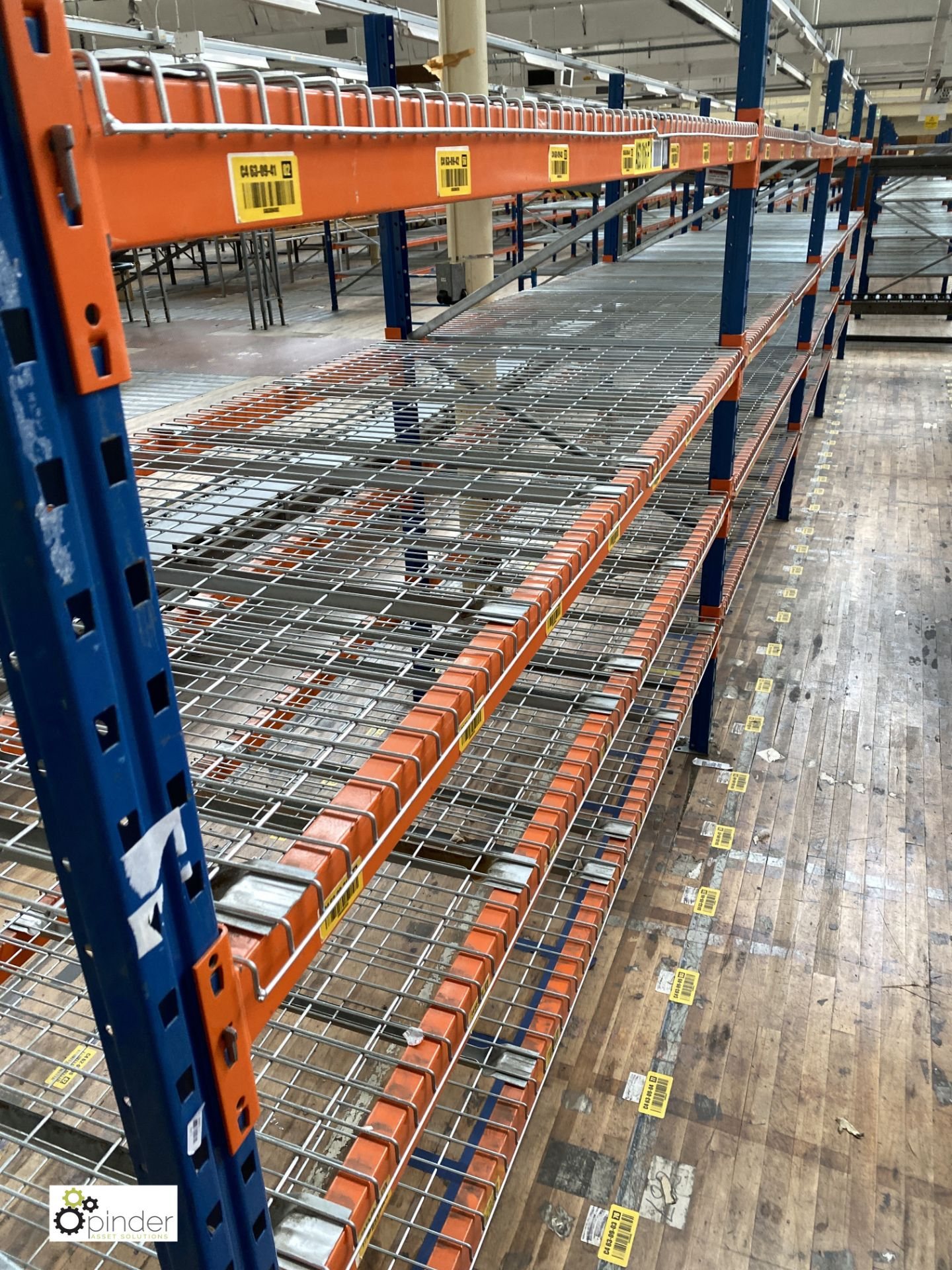 4 bays PSS 2K85 16 boltless Stock Racking, comprising 5 uprights 2400mm x 1200mm, 32 beams 2700mm, - Image 3 of 5