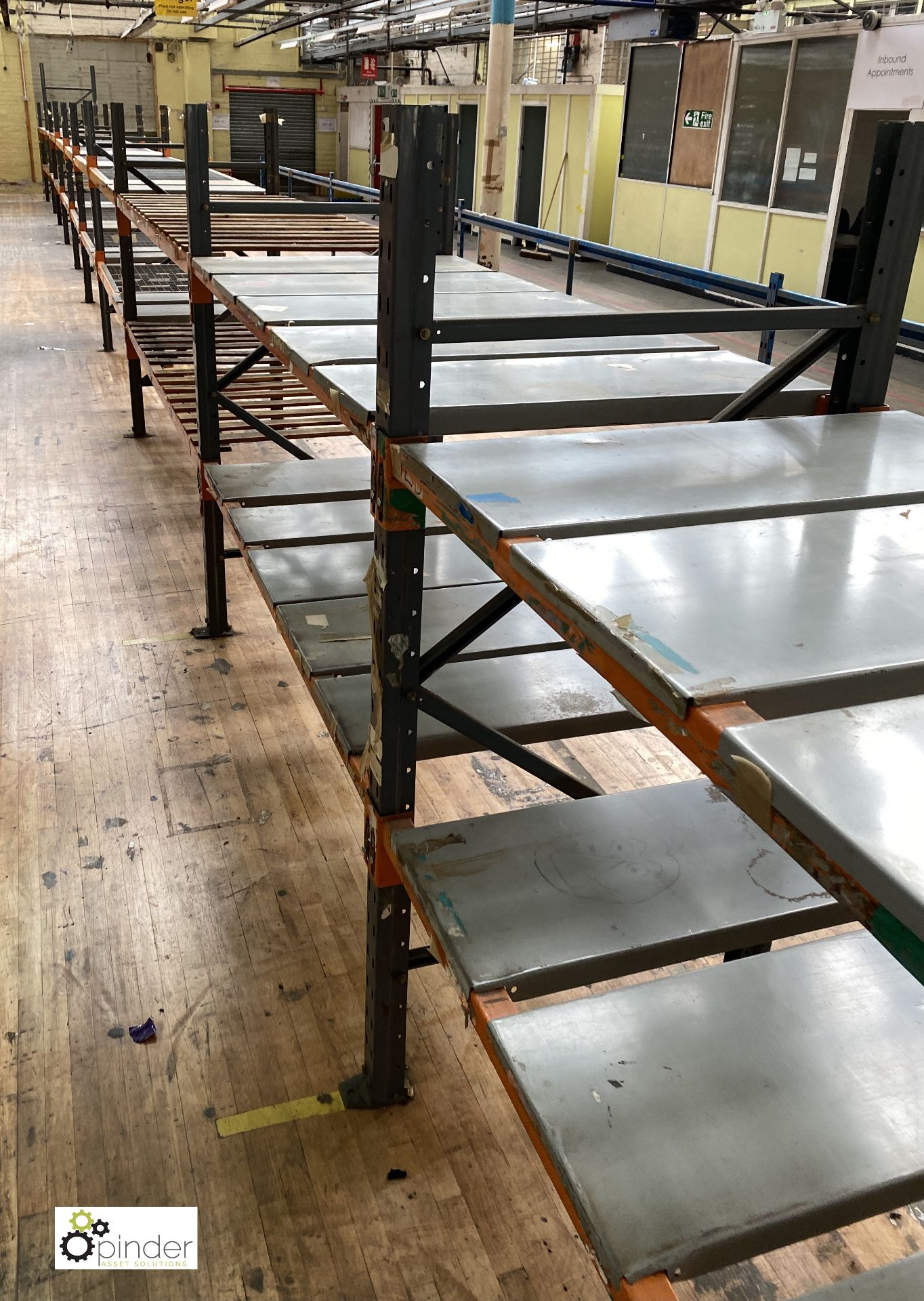 12 bays Dexion Speedlock boltless Racking, comprising 13 uprights 1835mm x 910mm, 48 beams varying - Image 5 of 5