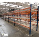 7 bays PSS 2K85 16 boltless Stock Racking, comprising 8 uprights 2400mm x 1200mm, 56 beams 2700mm,