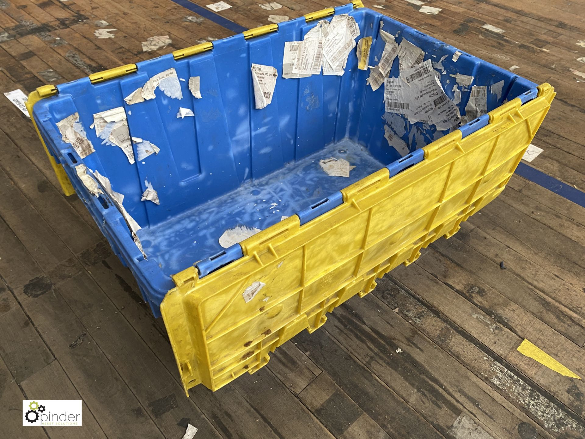 Approx. 72 Buckhorn stackable plastic Storage Containers, 640mm x 380mm x 300mm, with interlocking - Image 2 of 4