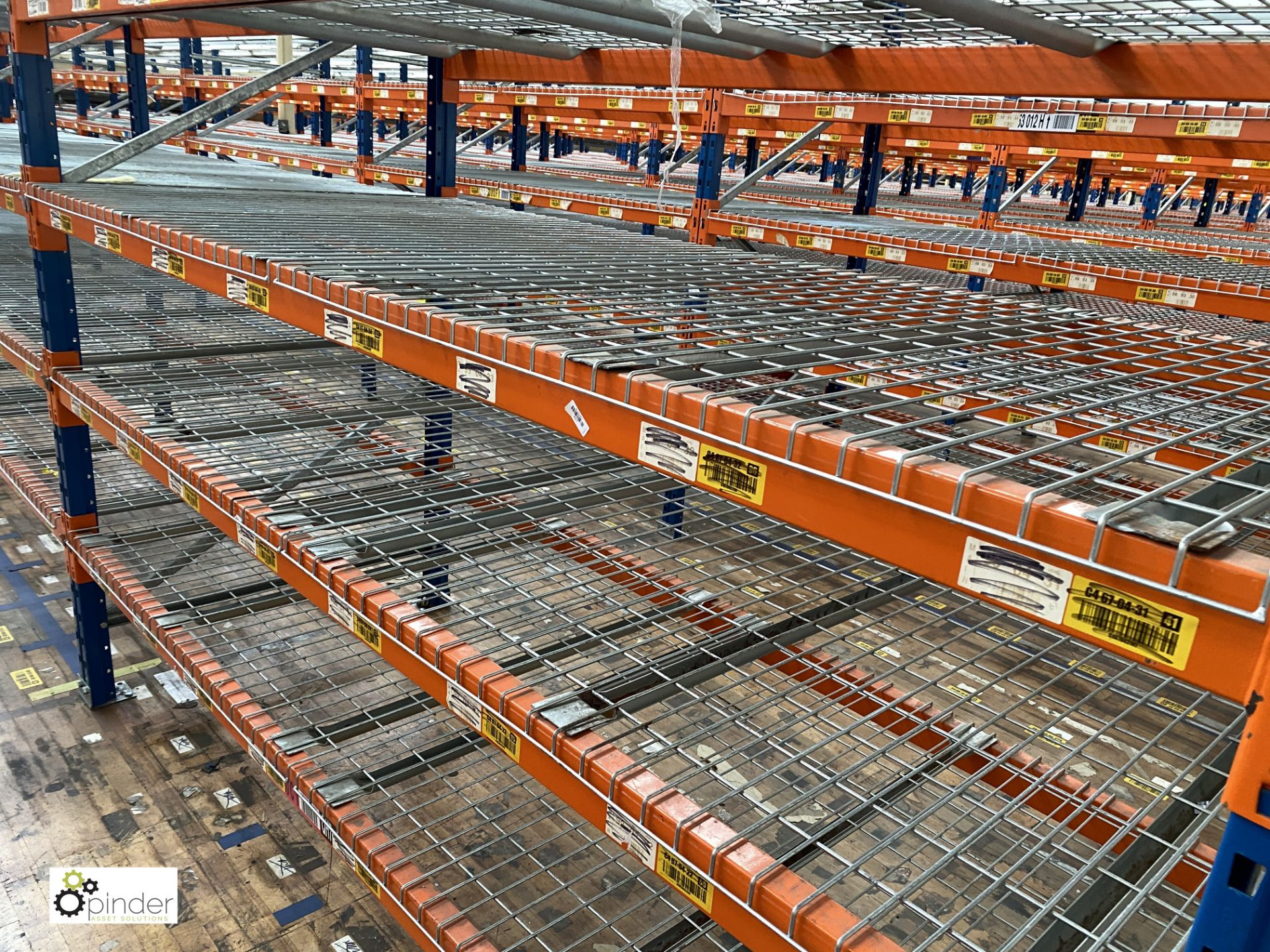 7 bays PSS 2K85 16 boltless Stock Racking, comprising 8 uprights 2400mm x 1200mm, 56 beams 2700mm, - Image 3 of 4