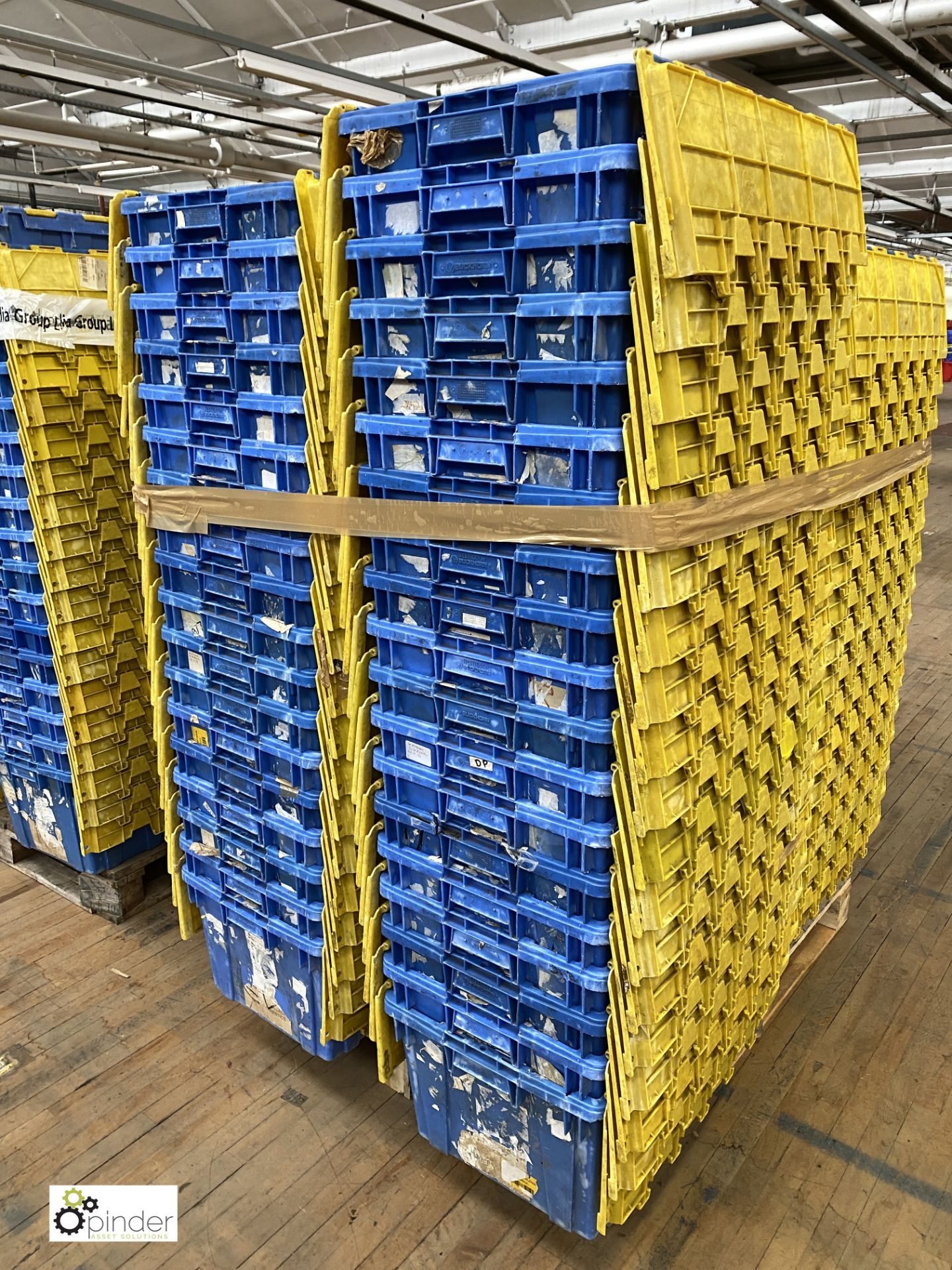 Approx. 67 Buckhorn stackable plastic Storage Containers, 640mm x 380mm x 300mm, with interlocking - Image 5 of 5