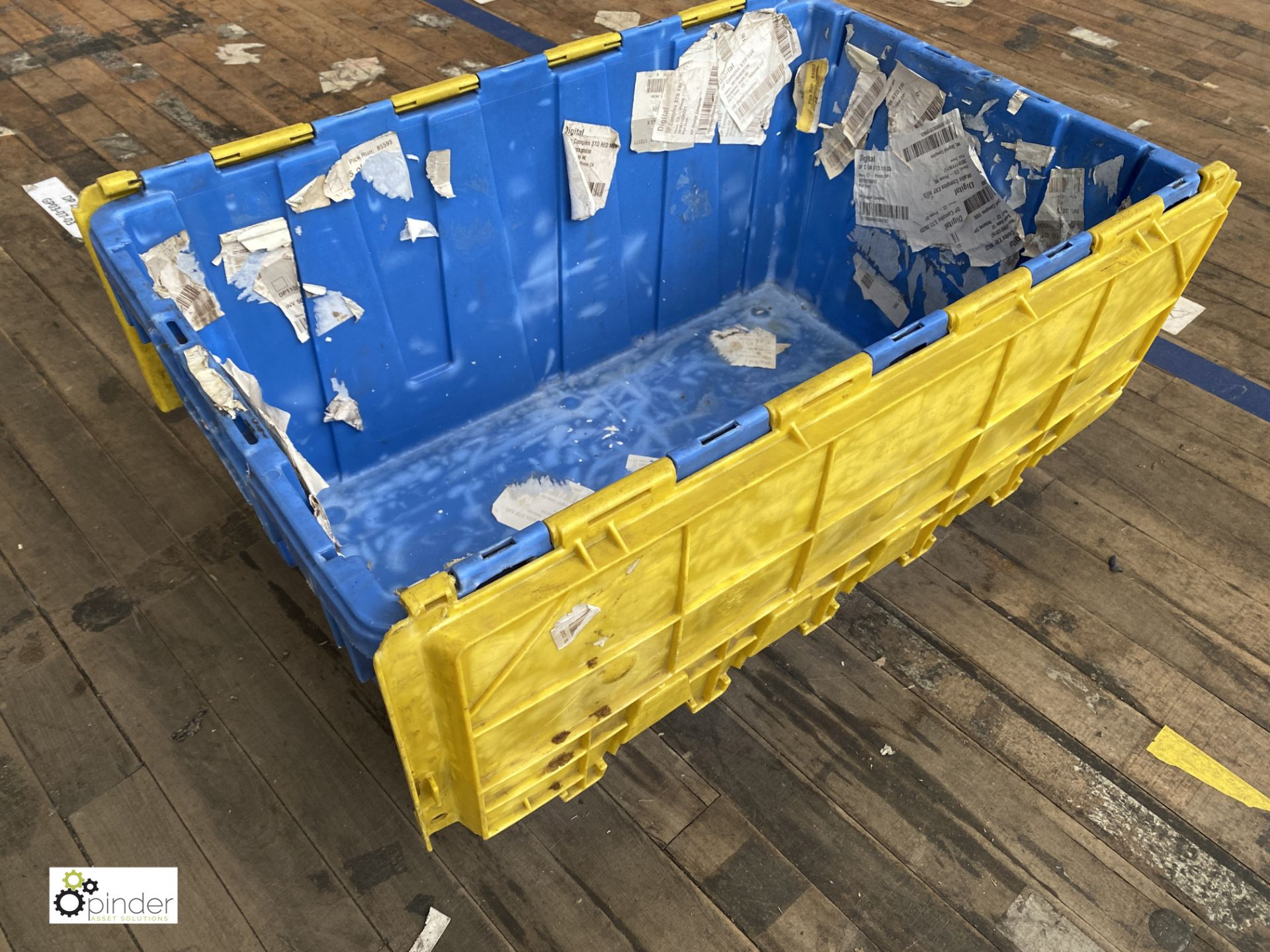 Approx. 54 Buckhorn stackable plastic Storage Containers, 640mm x 380mm x 300mm, with interlocking - Image 2 of 4
