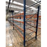 8 bays PSS 2K85 16 boltless Stock Racking, comprising 9 uprights 2400mm x 1200mm, 64 beams 2700mm,