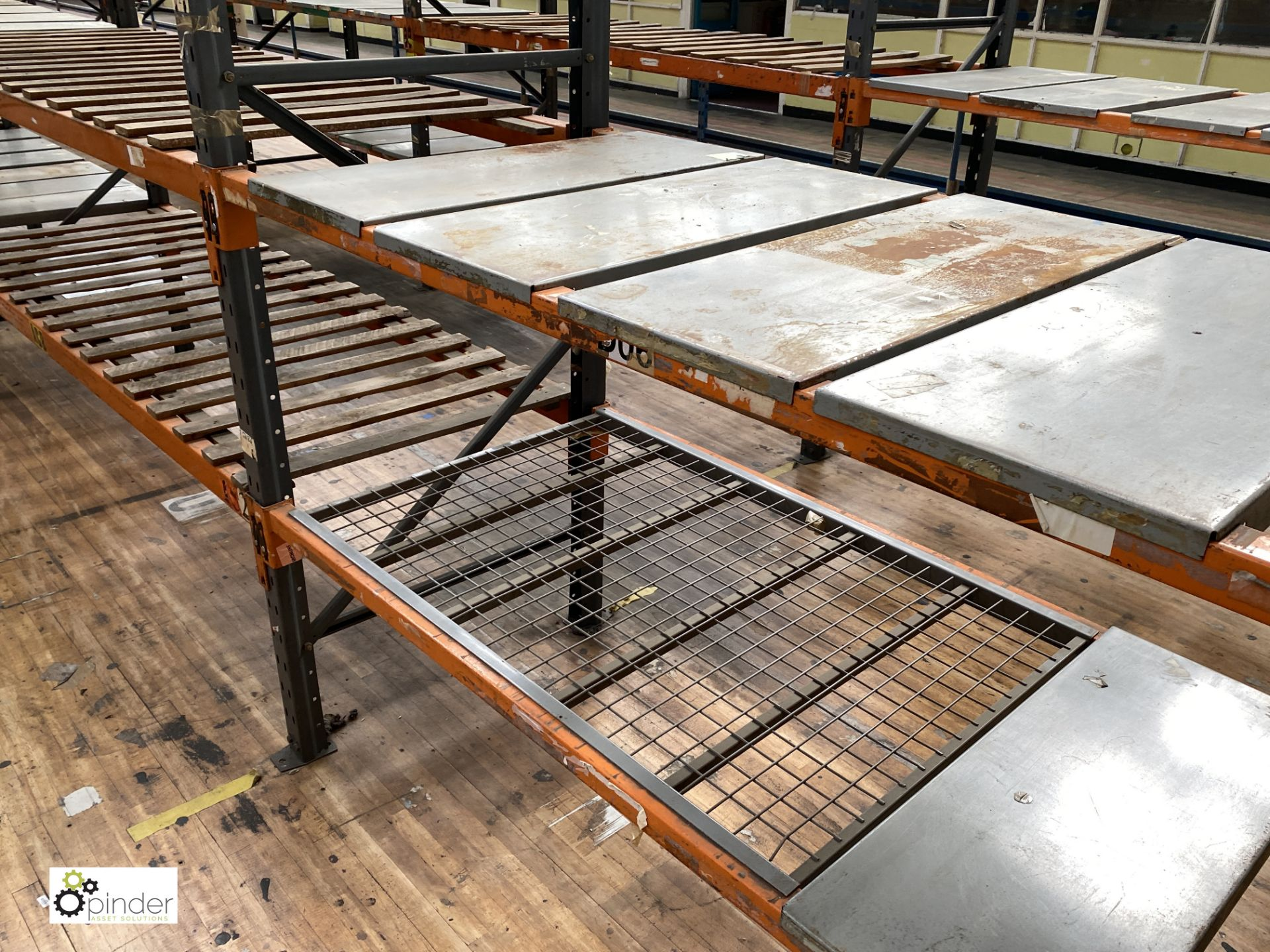 12 bays Dexion Speedlock boltless Racking, comprising 13 uprights 1835mm x 910mm, 48 beams varying - Image 3 of 5