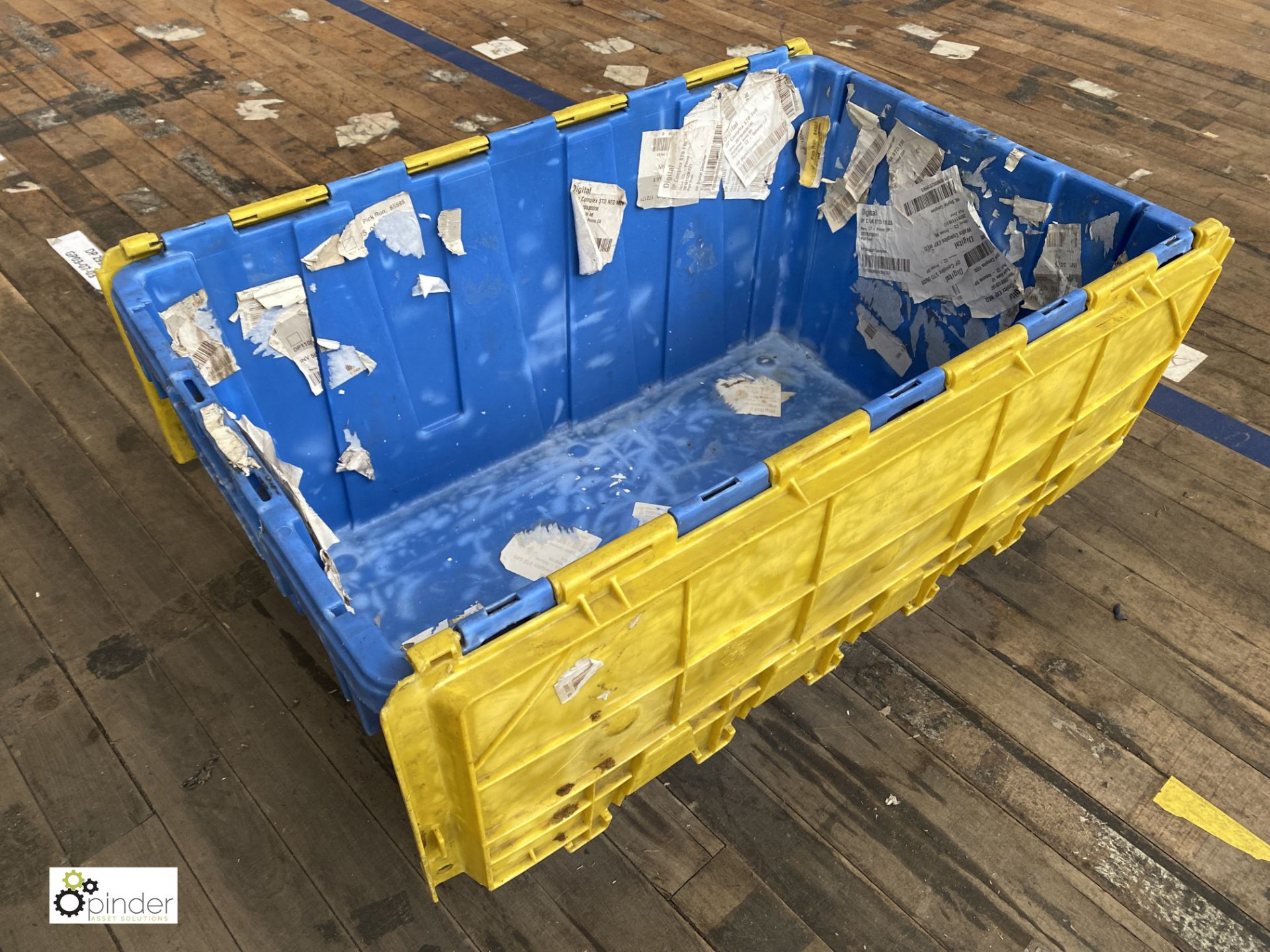 Approx. 58 Buckhorn stackable plastic Storage Containers, 640mm x 380mm x 300mm, with interlocking - Image 2 of 4