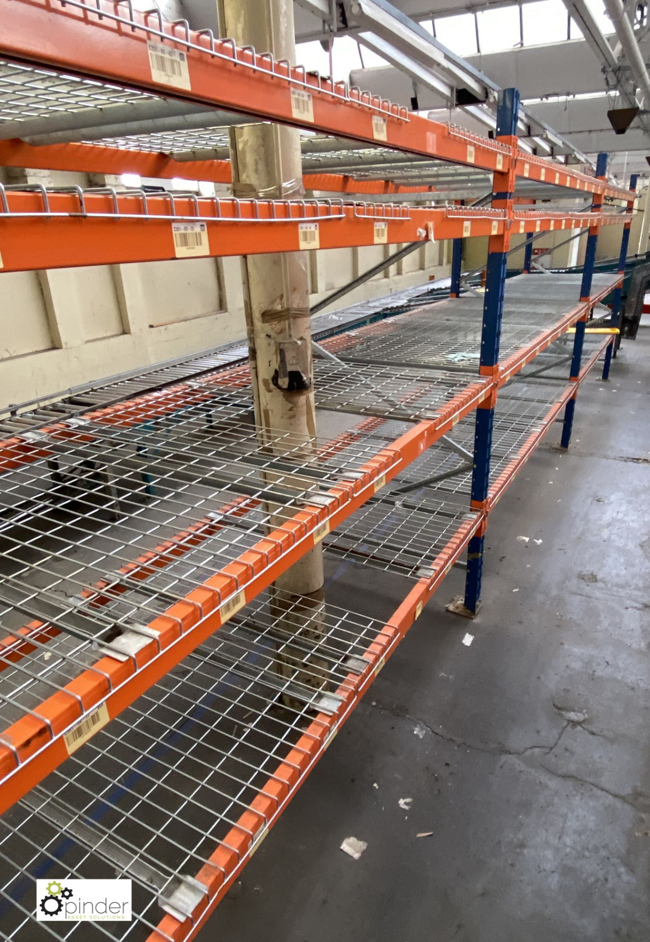 3 bays PSS 2K85 16 boltless Stock Racking, comprising 4 uprights 2400mm x 1200mm, 24 beams 2700mm, - Image 3 of 5