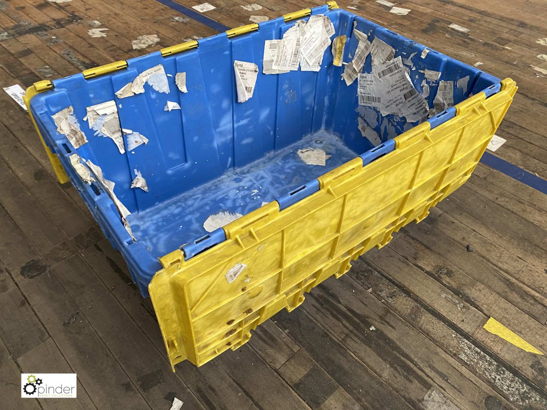 Approx. 67 Buckhorn stackable plastic Storage Containers, 640mm x 380mm x 300mm, with interlocking - Image 2 of 5