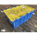 Approx. 72 Buckhorn stackable plastic Storage Containers, 640mm x 380mm x 300mm, with interlocking