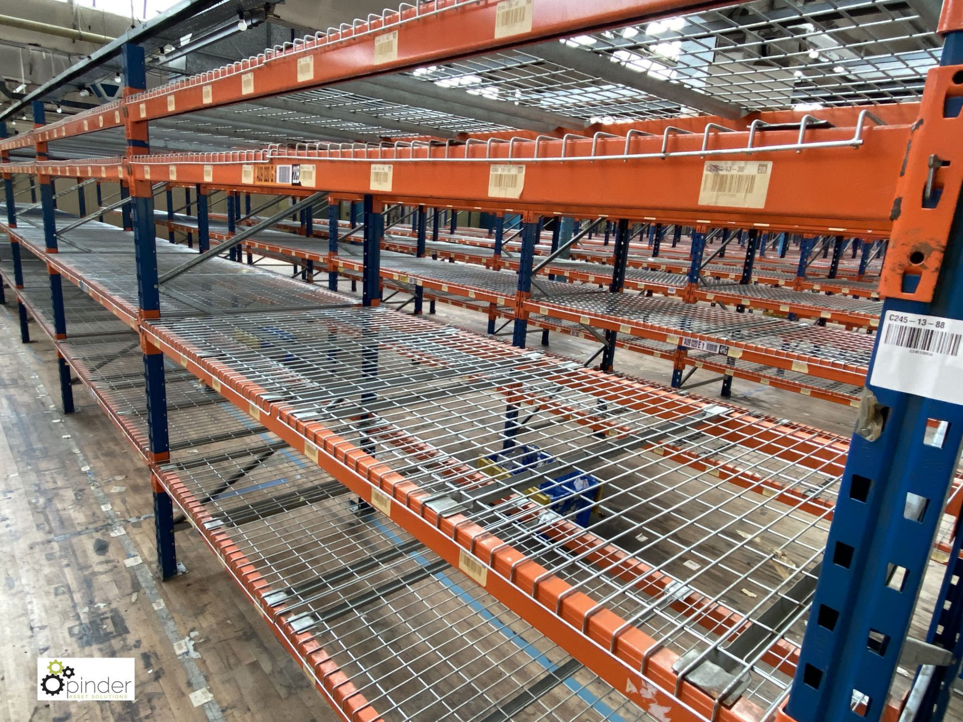 6 bays PSS 2K85 16 boltless Stock Racking, comprising 7 uprights 2400mm x 1200mm, 48 beams 2700mm, - Image 3 of 4