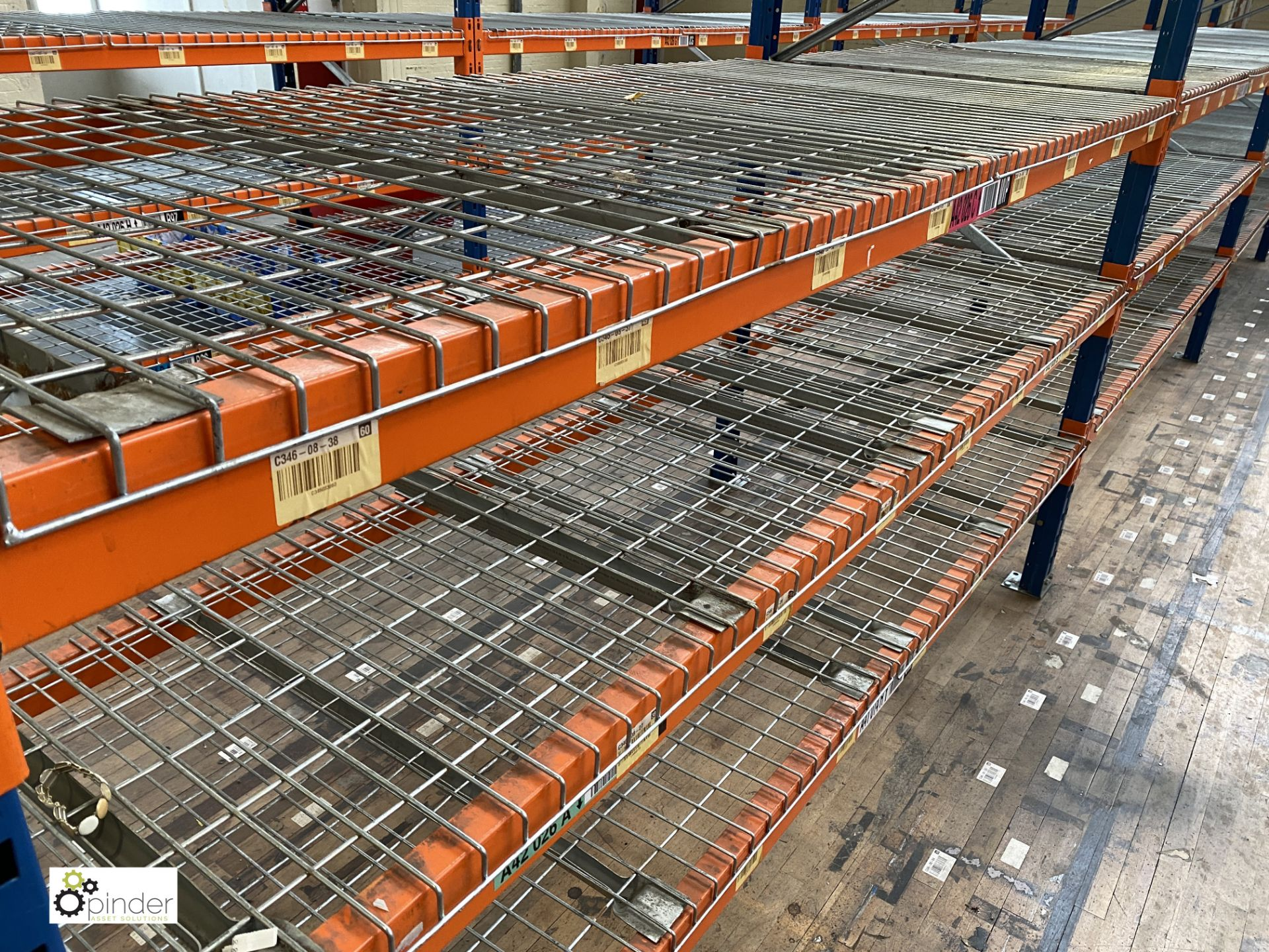 4 bays PSS 2K85 16 boltless Stock Racking, comprising 5 uprights 2400mm x 1200mm, 32 beams 2700mm, - Image 4 of 5