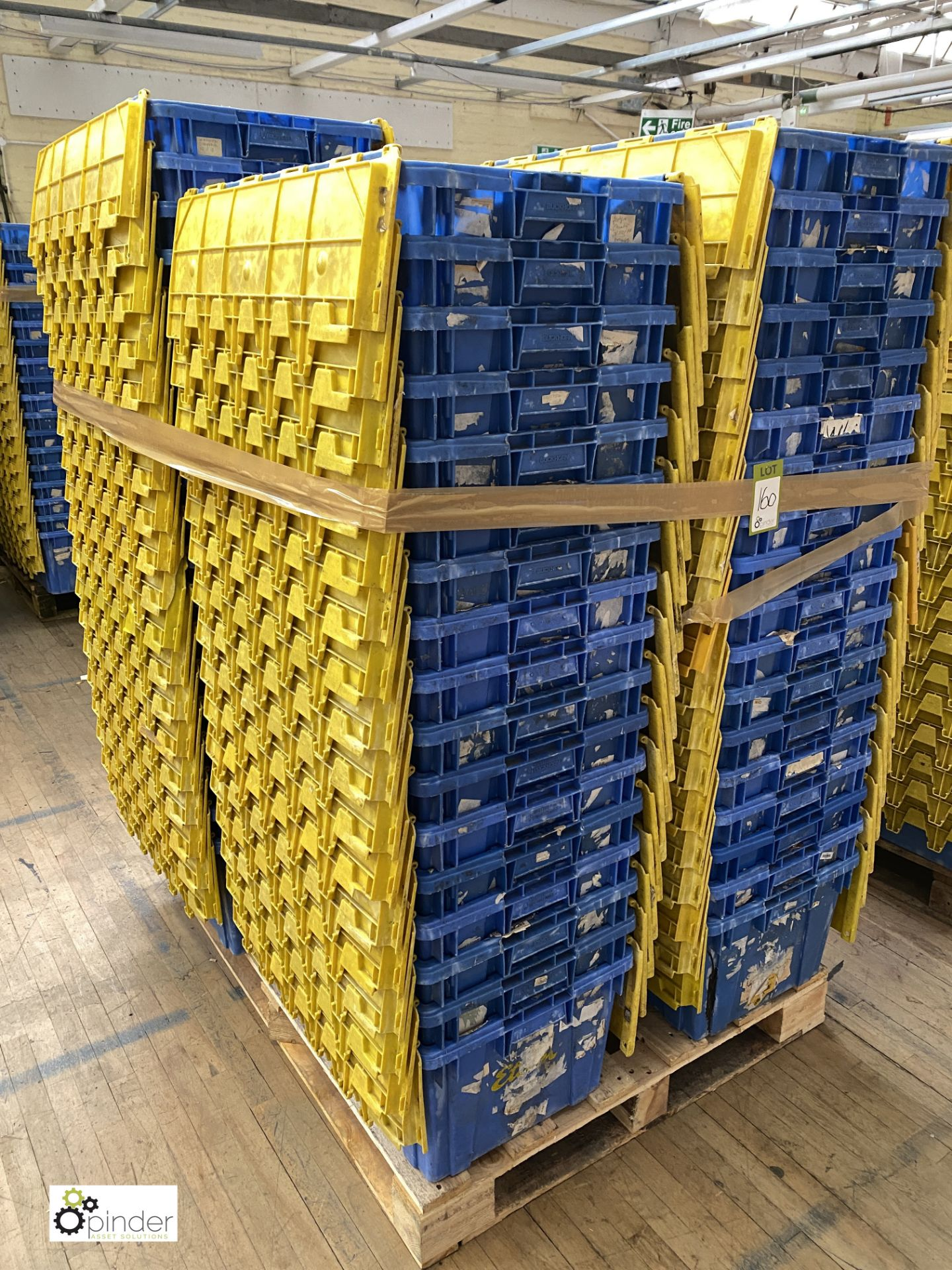 Approx. 67 Buckhorn stackable plastic Storage Containers, 640mm x 380mm x 300mm, with interlocking - Image 3 of 5