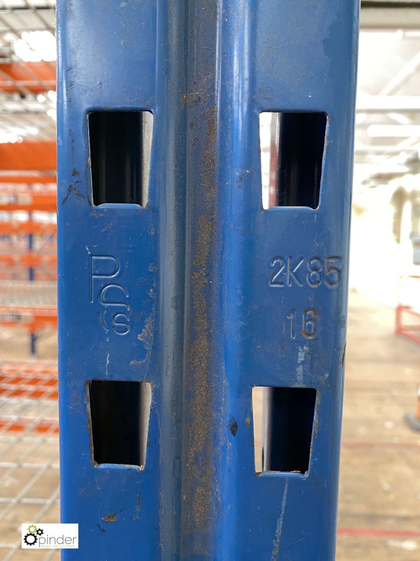 6 bays PSS 2K85 16 boltless Stock Racking, comprising 7 uprights 2400mm x 1200mm, 48 beams 2700mm, - Image 4 of 4