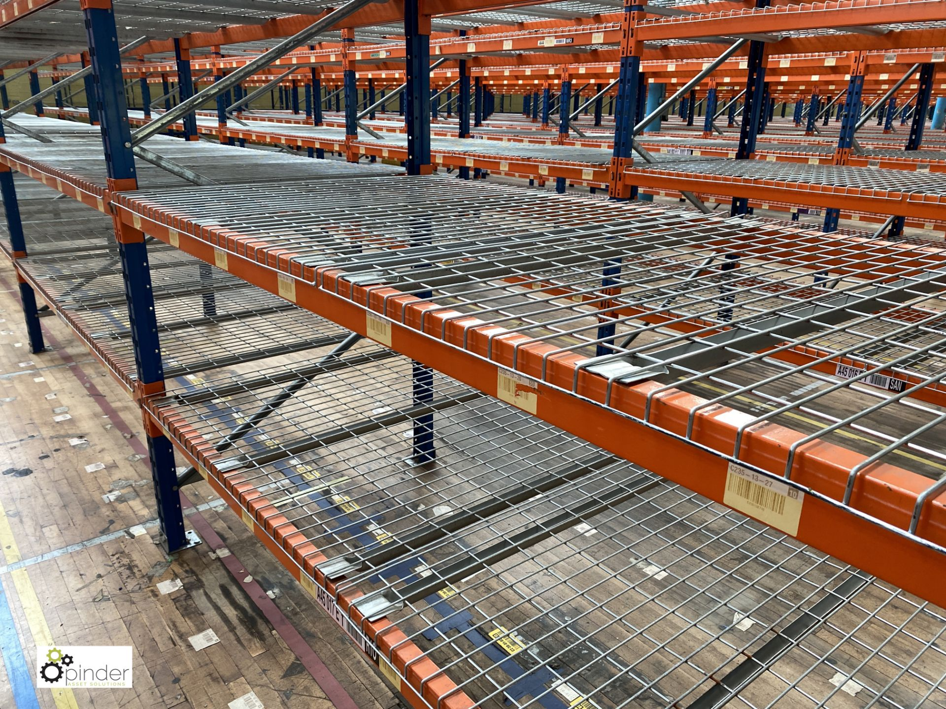 7 bays PSS 2K85 16 boltless Stock Racking, comprising 8 uprights 2400mm x 1200mm, 56 beams 2700mm, - Image 2 of 3