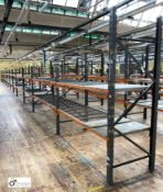 12 bays Dexion Speedlock boltless Racking, comprising 12 uprights 1835mm x 910mm, 1 upright 2440mm x