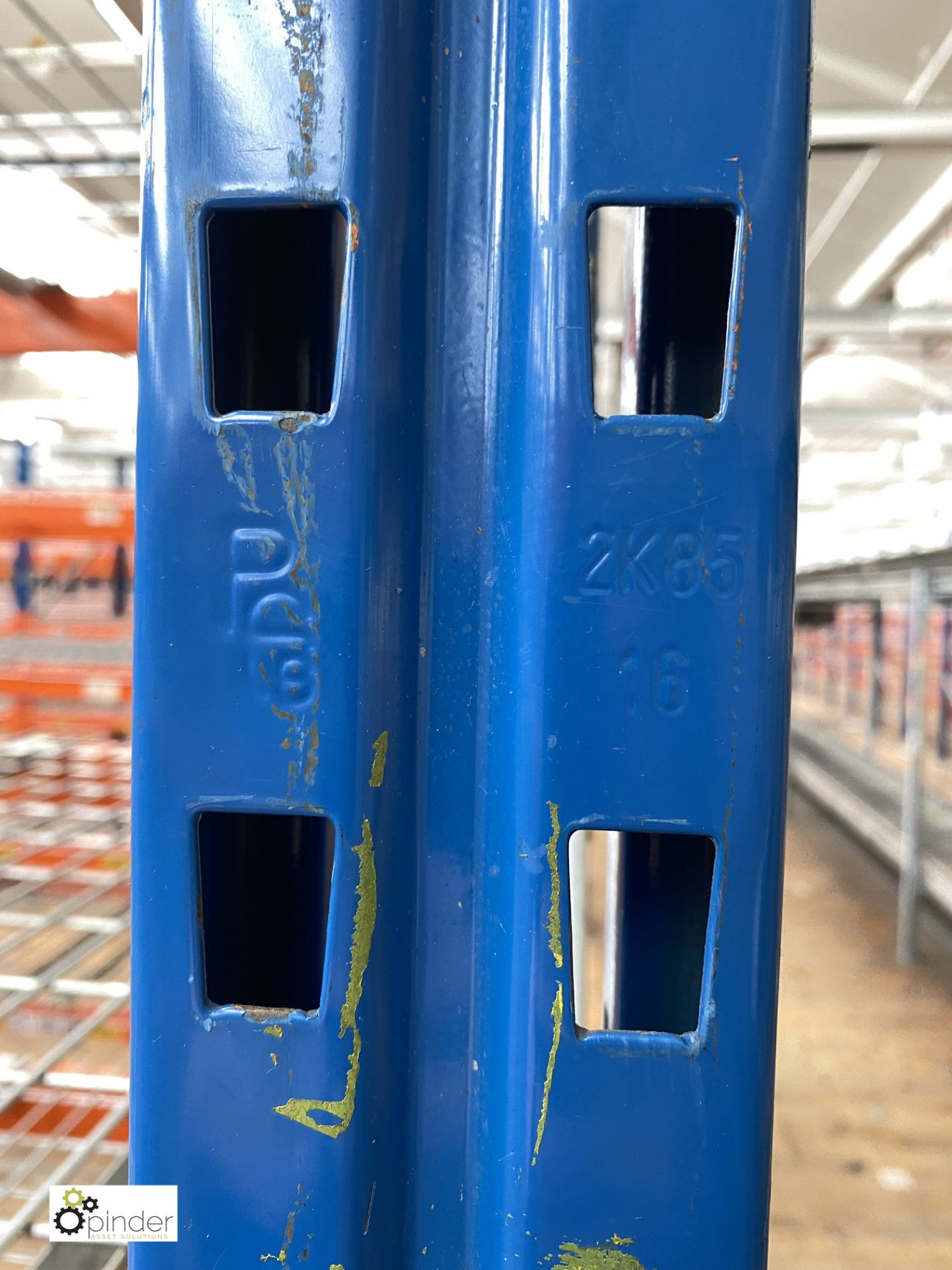8 bays PSS 2K85 16 boltless Stock Racking, comprising 9 uprights 2400mm x 1200mm, 64 beams 2700mm, - Image 4 of 4