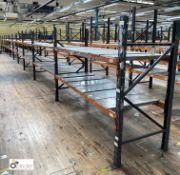 10 bays Dexion Speedlock boltless Racking, comprising 11 uprights 1835mm x 910mm, 40 beams 2450mm,