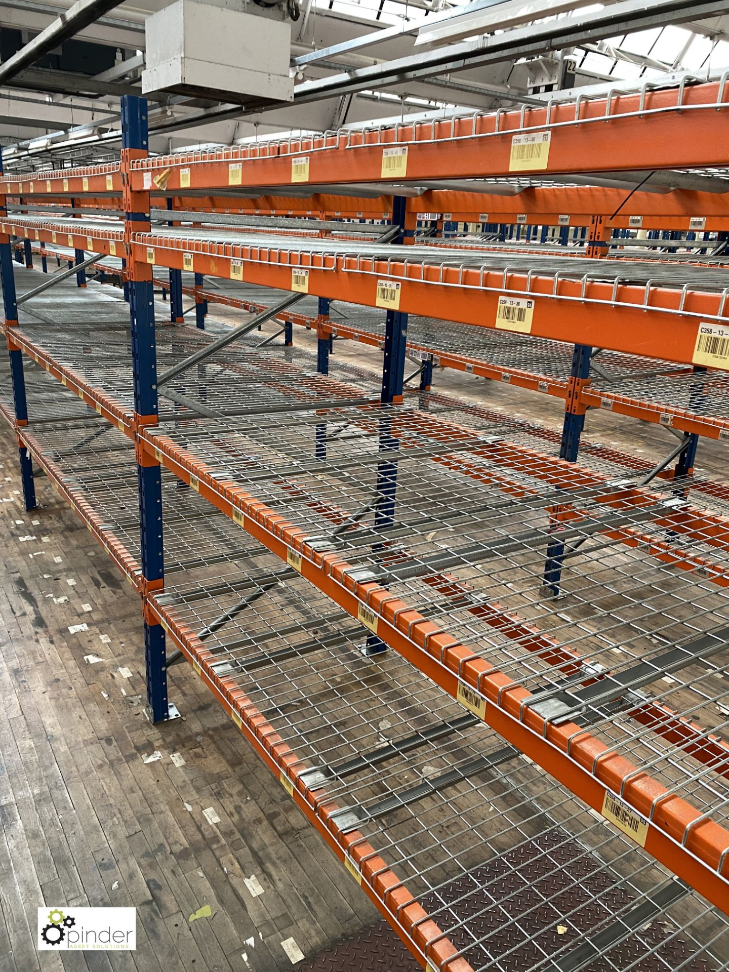 6 bays PSS 2K85 16 boltless Stock Racking, comprising 7 uprights 2400mm x 1200mm, 48 beams 2700mm, - Image 2 of 4
