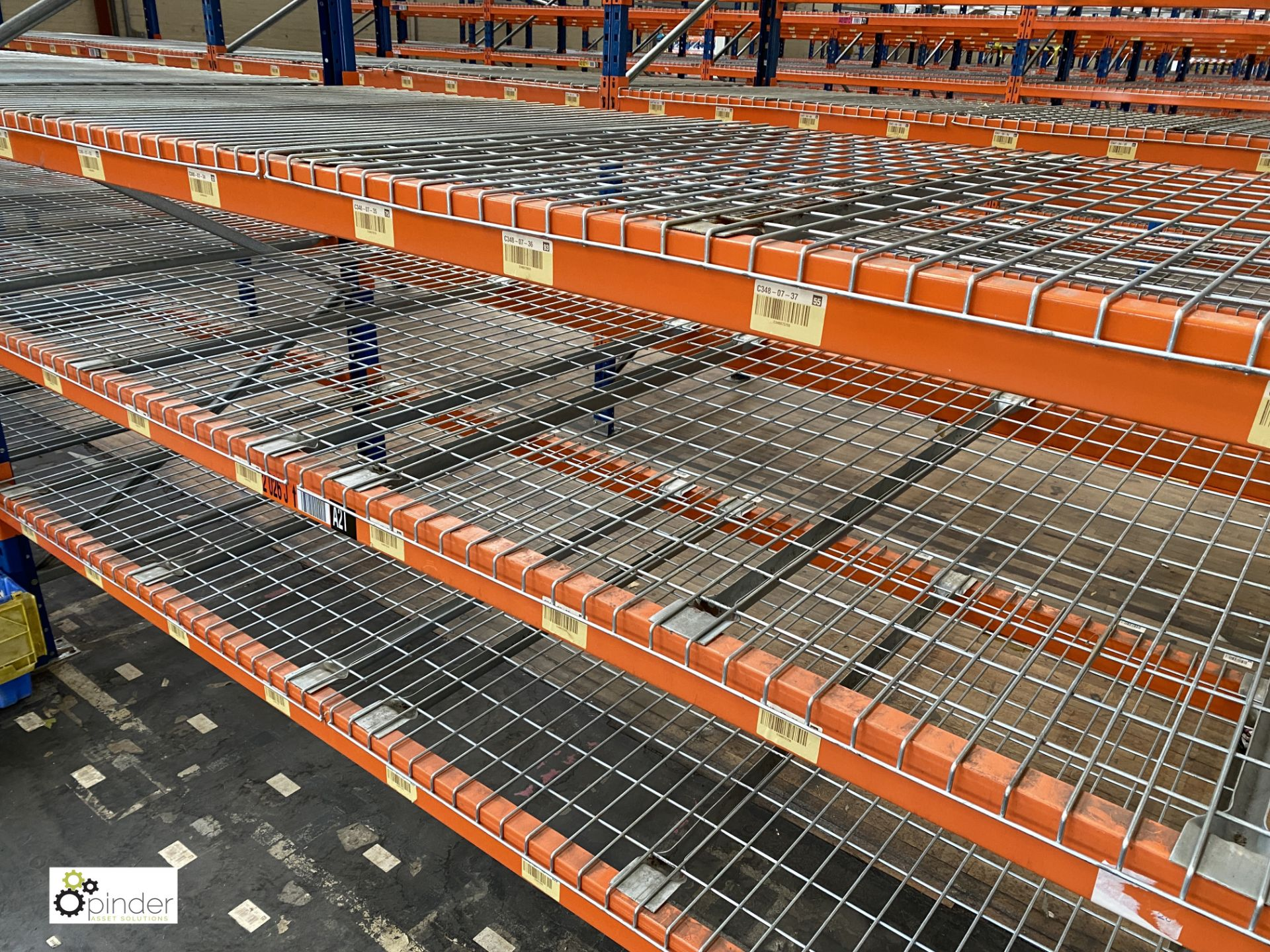 4 bays PSS 2K85 16 boltless Stock Racking, comprising 5 uprights 2400mm x 1200mm, 32 beams 2700mm, - Image 3 of 4