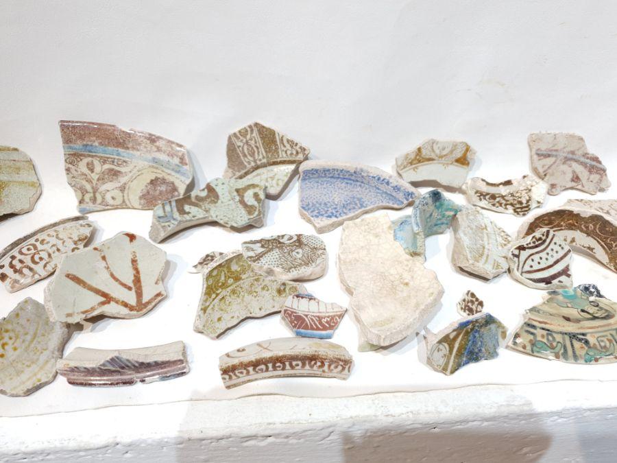 A Set of Islamic Ceramic Fragments - Image 2 of 5