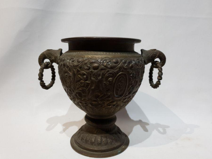 Large Indian Brass Jug