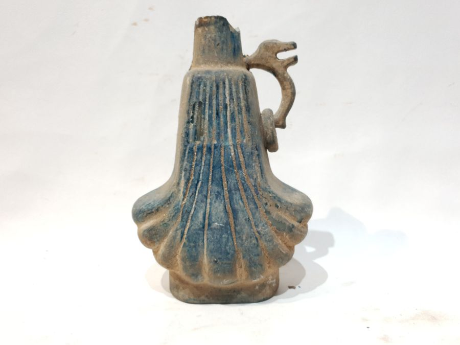 A Blue Glass Jug