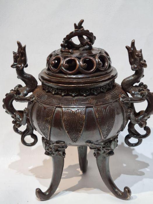 Oriental Bronze Incense Burner