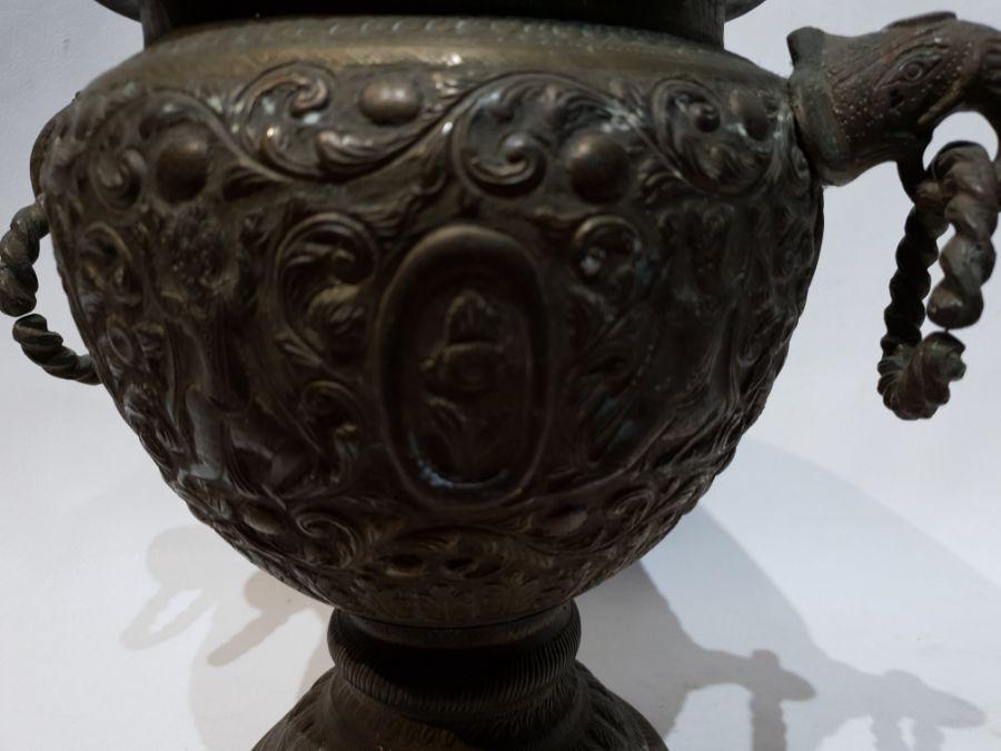Large Indian Brass Jug - Image 4 of 5