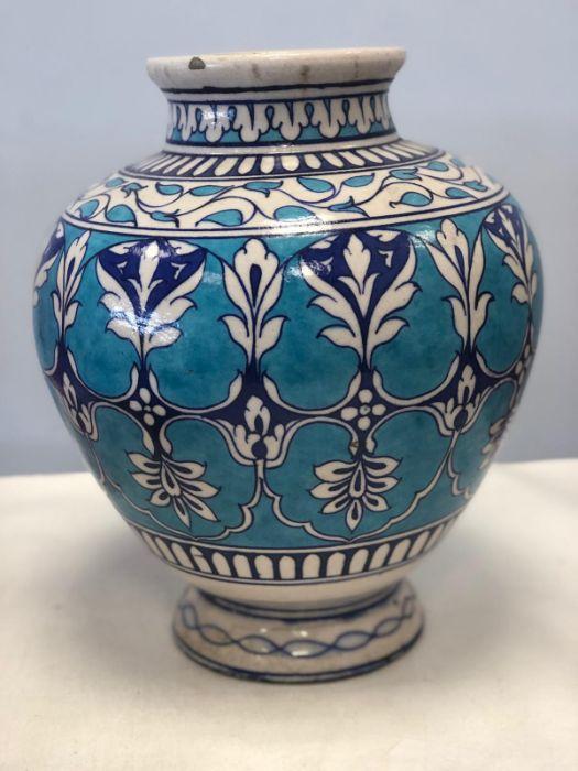 Islamic Possibly Izink Pottery Vase