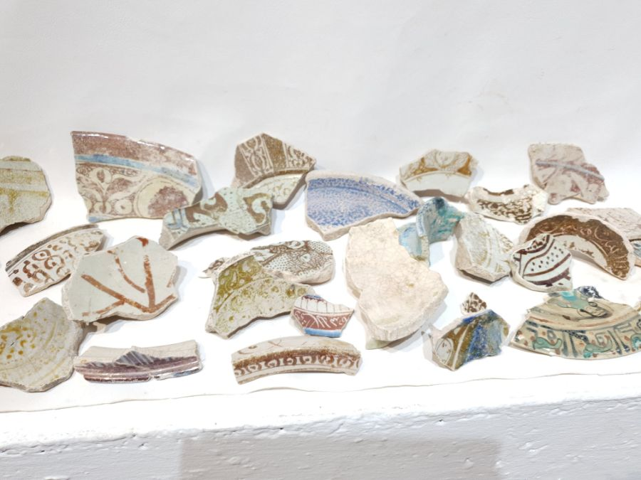 A Set of Islamic Ceramic Fragments - Image 5 of 5