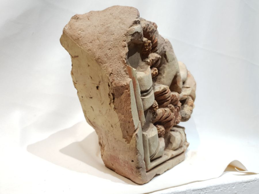 Indian Terracotta Fragment - Image 2 of 7