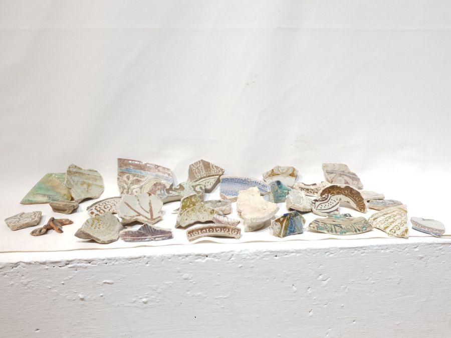 A Set of Islamic Ceramic Fragments
